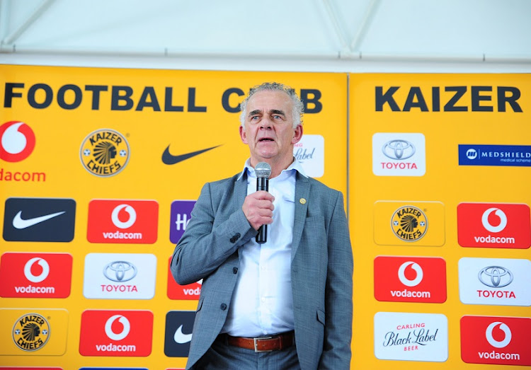 Kaizer Chiefs Technical Advisor Robertus Hutting during Absa Premiership 2017/18 Kaizer Chiefs Press Conference at Naturena Village on 10 January 2018.