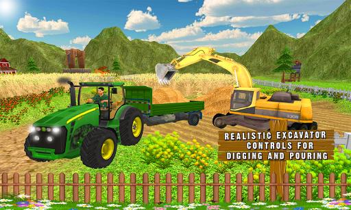 Farm Tractor Transportation 3D