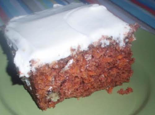 """Best Carrot Cake Ever """"This is the exact recipe that I have..."""
