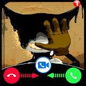 video call and chat simulation game icon