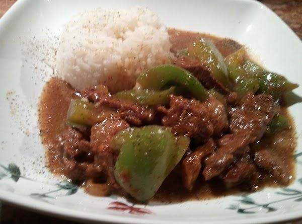 Spicy  Pepper Steak Recipe