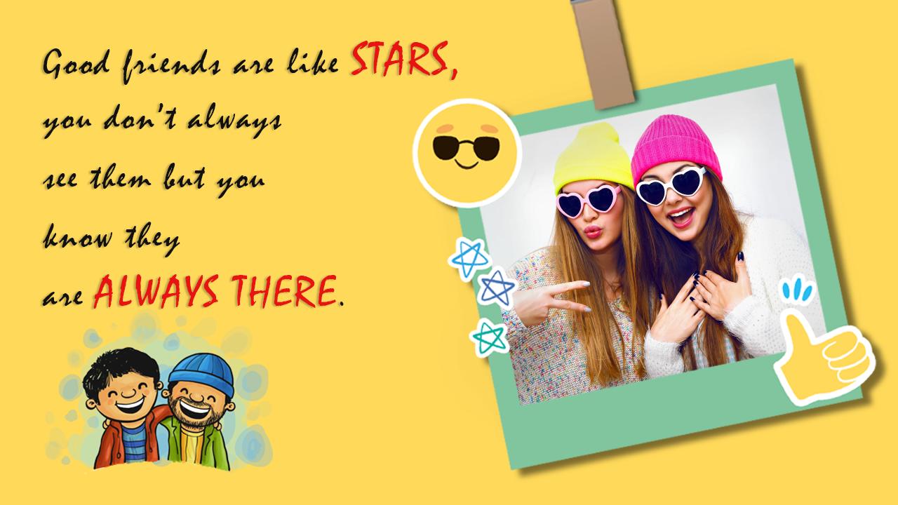 friendship frames for friends screenshot
