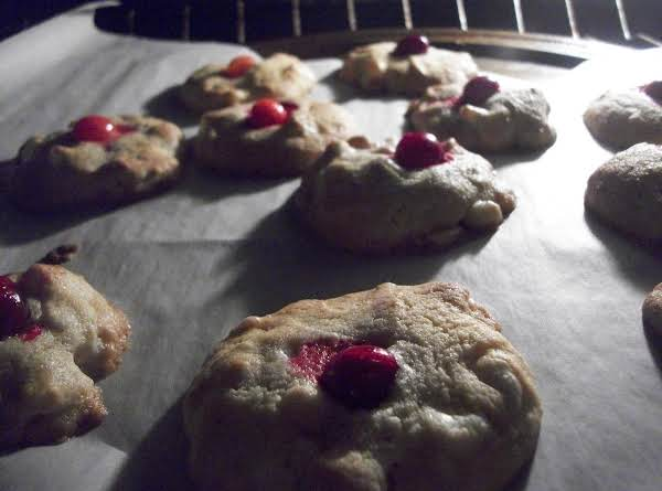 Cranberry White Chocolate Cheesecake Macadamia Nut Cookies Baking Away ~ A Real Delicacy. Take Your Time And You'll Wow Those Who Taste Them!