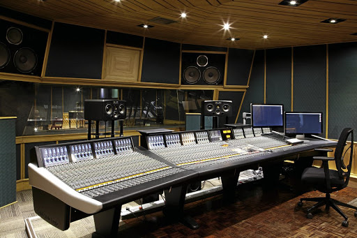 On the button:  The Downtown Music Hub, still with its original customised woodwork, supports South African musicians through all stages of the recording and distribution process. Picture: SUPPLIED