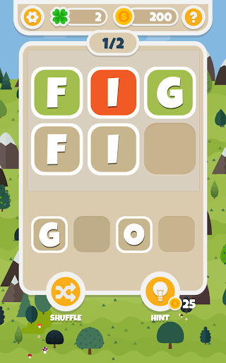 Word Hill - Challenging game to play with friends! - screenshot