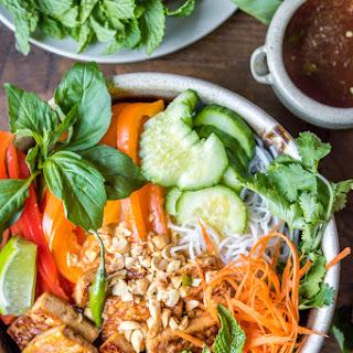 Vegan Bún Chay (Vietnamese Noodle Salad).