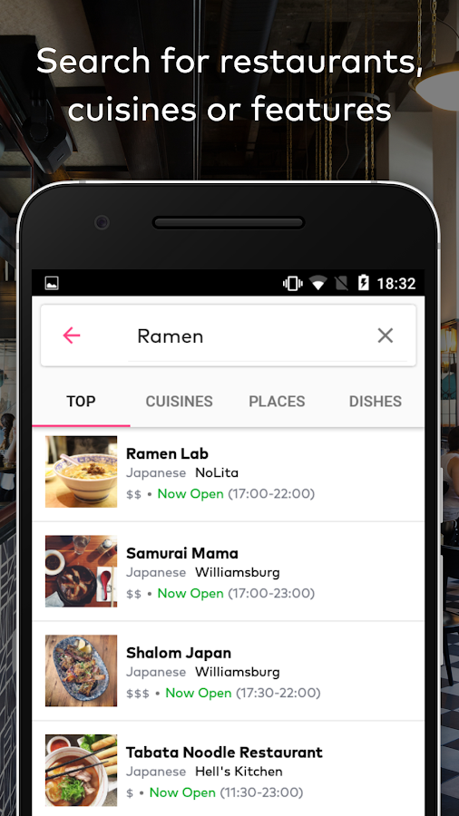 DINE by Tasting Table- screenshot