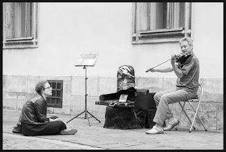 Photo: street musician
