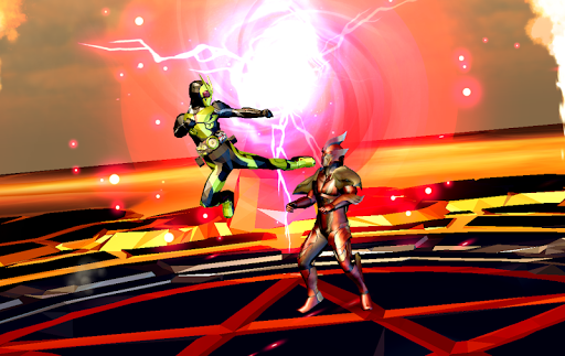 Rider Zero-One Henshin Heroes Fighter Wars 1.4 screenshots 1