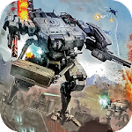 Robot Strike Combat War Icon