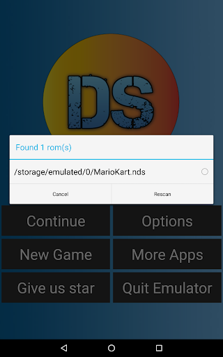 NDS Emulator - For Android 6 pb1.0.0.1 screenshots 2