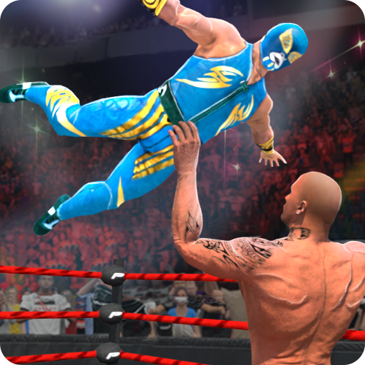 WRESTLING MANIA : WRESTLING GAMES & FIGHTING