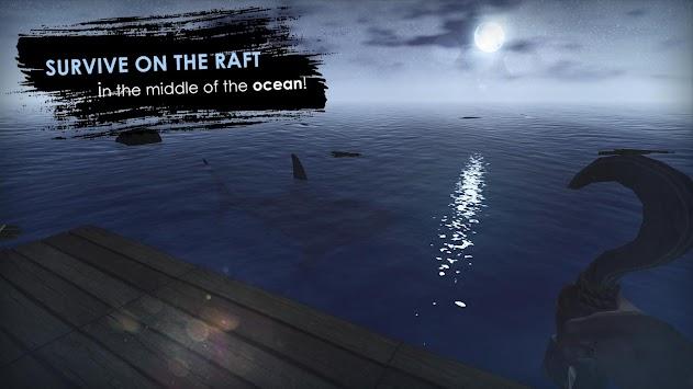 Survival on raft: Crafting in the Ocean