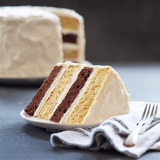 Chocolate Pumpkin Layer Cake.