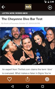 106.3 Cowboy Country - Cheyenne (KLEN)- screenshot thumbnail