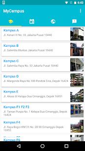 MyCampus screenshot
