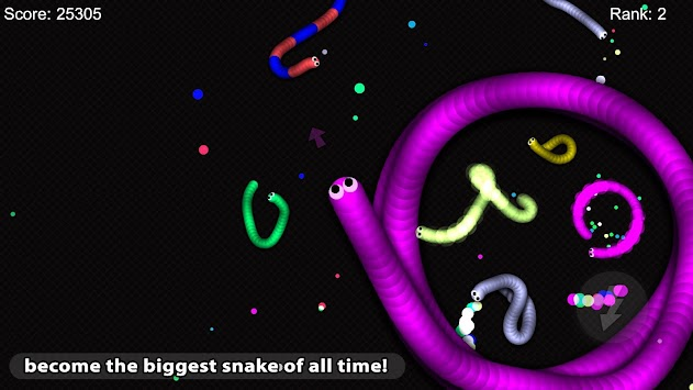 Slither Snake io APK screenshot thumbnail 2
