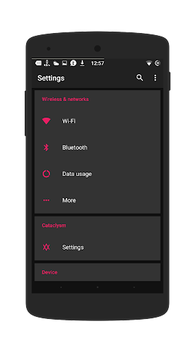 Dark Pink - Layers Theme