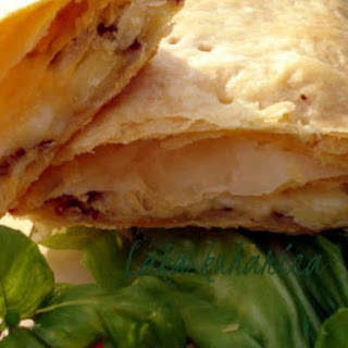 Puff Pastry Squares With Mozzarella