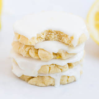 Glazed Lemon Cookies.