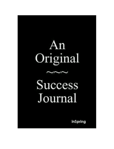 An Original Success Journal