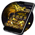 Golden Dragon Theme & Lock Screen apk