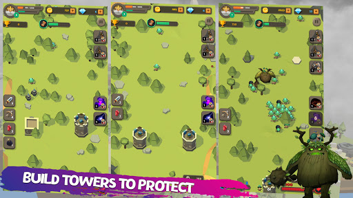 Defender: Tower Defense android2mod screenshots 1
