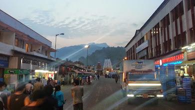 Photo: Kukke Subramanya Temple - KP in the backdrop :-)