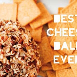 Best Cheese Ball Ever Appetizer