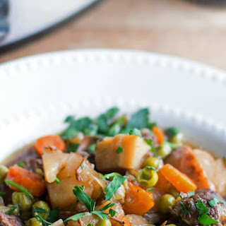 Crock Pot Irish Beef Stew.