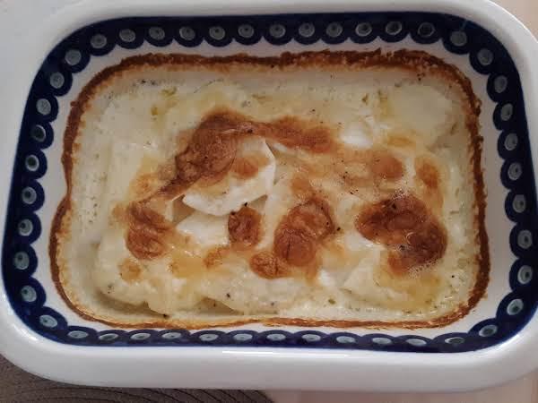 Sliced Potatoes 'n Cream