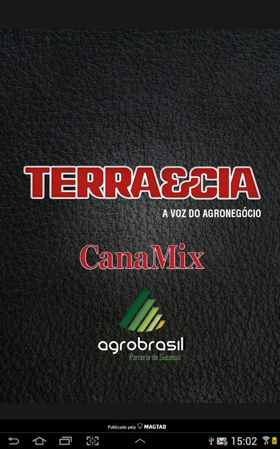 Revista Terra&Cia e CanaMix- screenshot