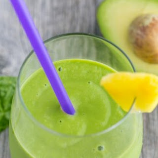 Pineapple Avocado Green Smoothie