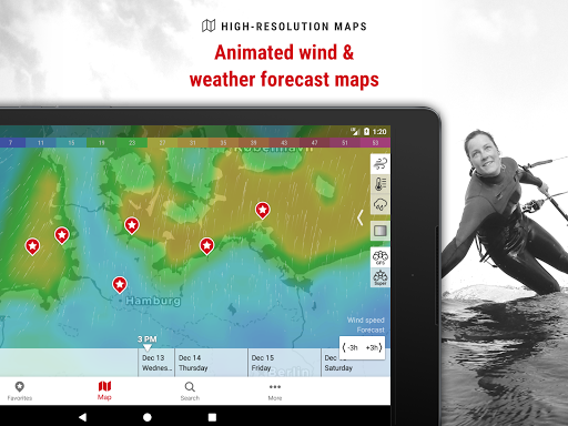 Windfinder Pro - weather & wind forecast screenshot 6