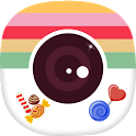 Candy Selfie - Choco  Stickers Filters Camera icon