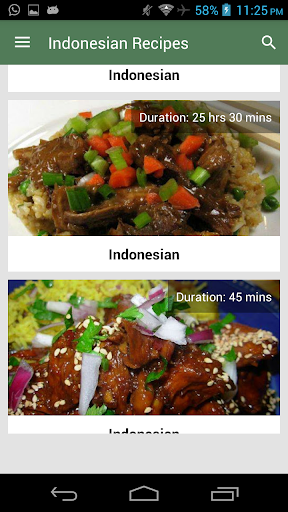 Indonesian Recipes