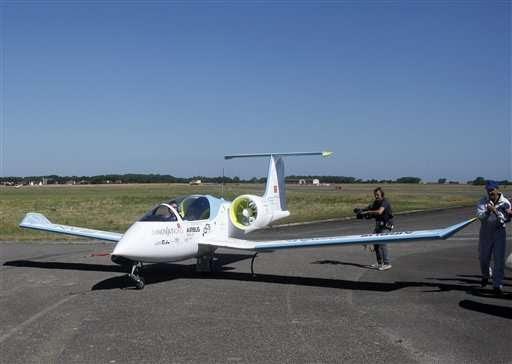 Airbus E Fan เครื่องบินไฟฟ้าลำแรกที่ข้ามช่องแคบอังกฤษได้ 2