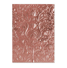 Sizzix 3-D Textured Impressions Embossing Folder - Folk Doodle