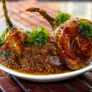 Bharwan Baingan (Stuffed Baby Eggplant/Brinjal) Recipe