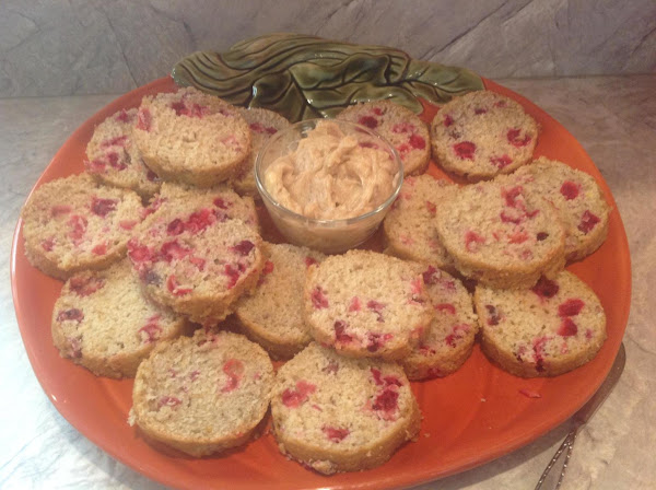 Cranberry Orange Bread With Cinnamon Honey Butter Recipe
