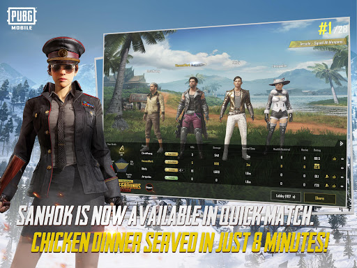 Screenshot for PUBG MOBILE in Hong Kong Play Store
