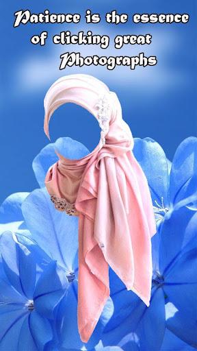 Hijab Wedding Photo Suit