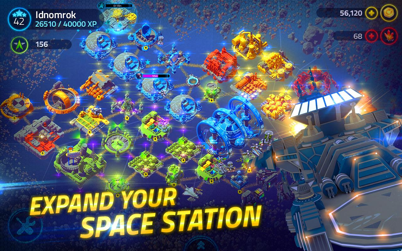 Merchants of Space: Galactic Outpost Strategy- screenshot