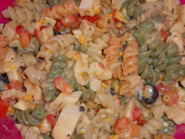 Zesty Chicken Salad Pasta Recipe