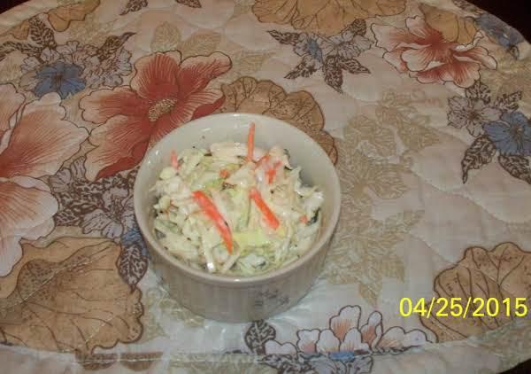 Yvonne's Simple Coleslaw