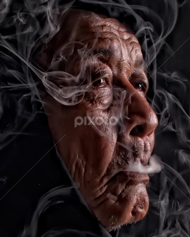 by Emil Zion Punzalan - People Portraits of Men ( senior citizen,  )