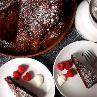 Valerie's French Chocolate Cake.
