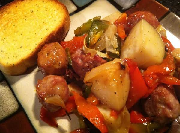 Sausage Potatoes N Peppers Recipe