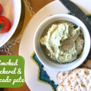 Quick Smoked Mackerel And Avocado Pate.