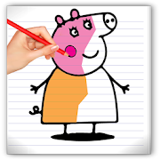 App drawing peppa pig game APK for Kindle